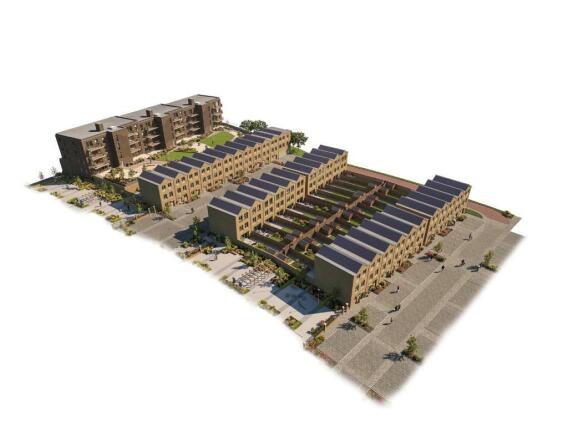 Verde 3D Site plan