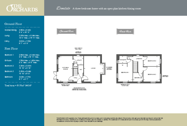 Dendale floorplan