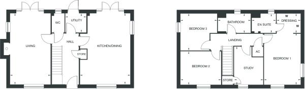 Armscote floorplan