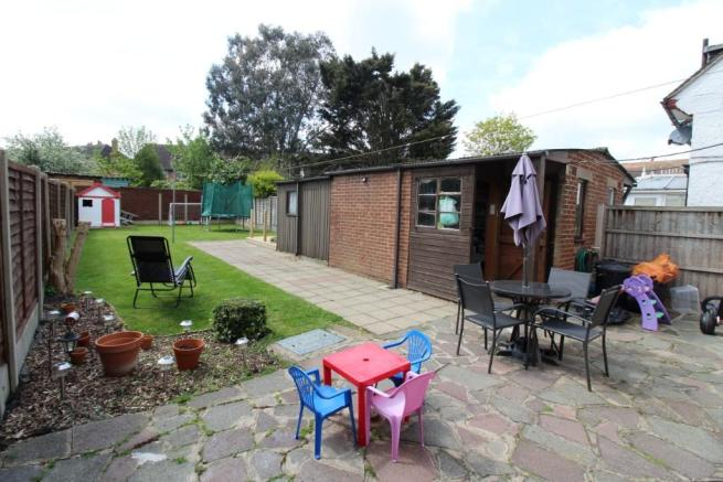 Patio & Shed