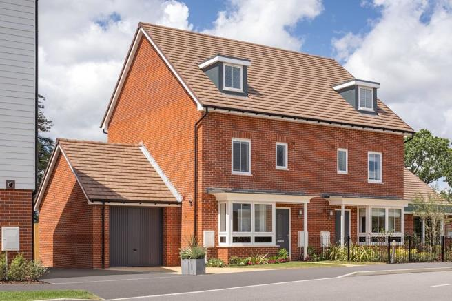 External photo of 4 bedroom Woodvale at Wychwood Park