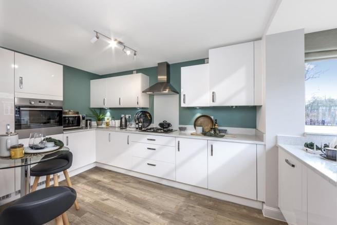 Kitchen in a 4 bedroom Woodvale