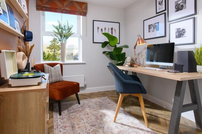 Ground floor study in Avondale - ideal for home working