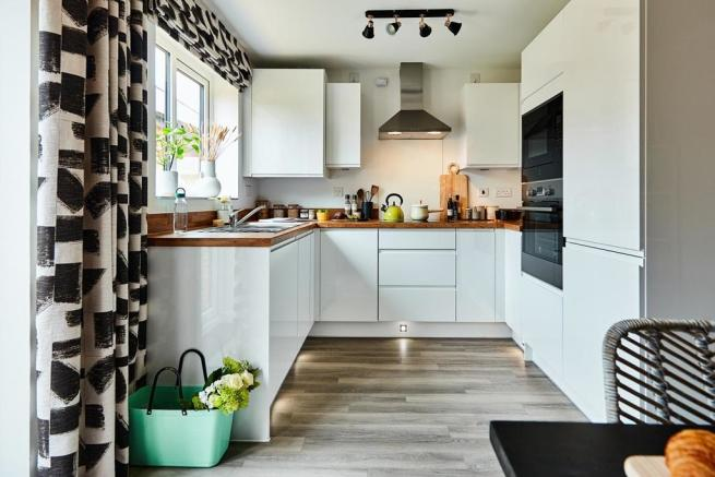 Optional extras allow you to upgrade the kitchen and make it your own
