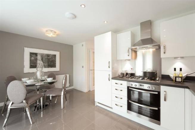 Actual Image from Gosford showhome at Booth Hall