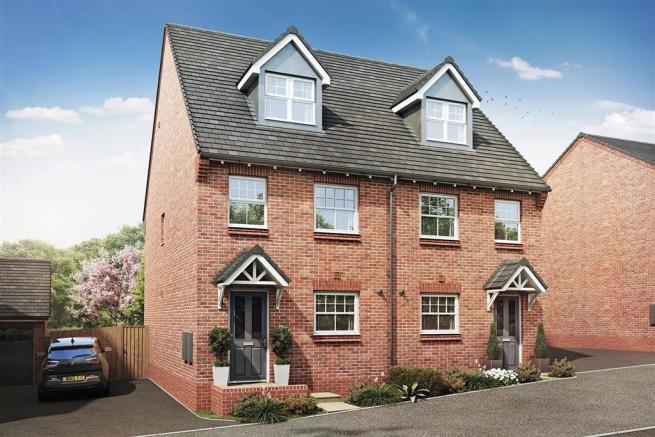 Artist impression of The Alton G at Clarendon Woods