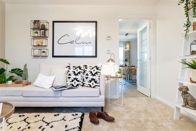 Actual Gosford show home at Connect@Halfway