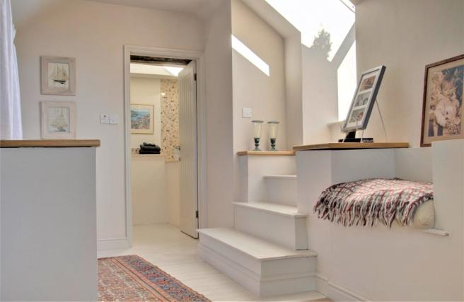 Loft utility /Access to roof terrace and Shower room