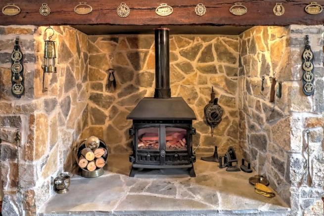 Sitting Room Fireplace
