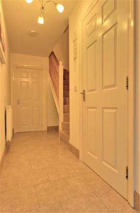 Entrance hall with Cloakroom