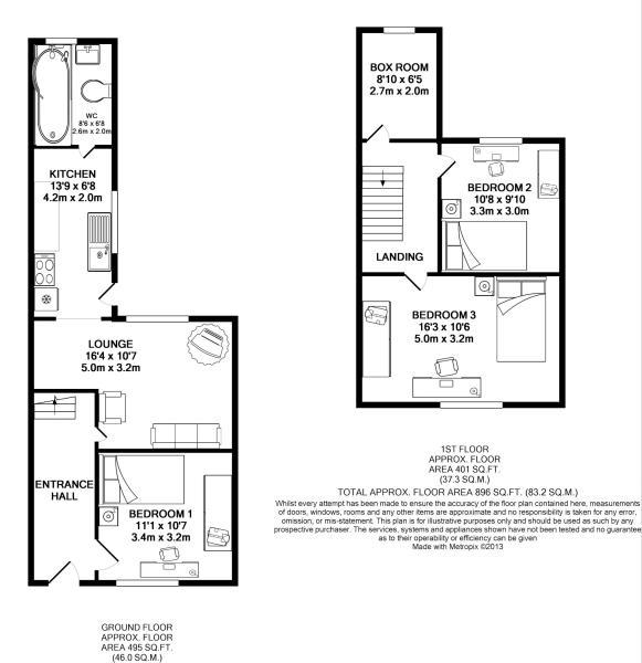 7 Alma Floorplan