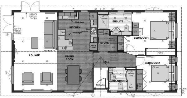 The Arley floorplan