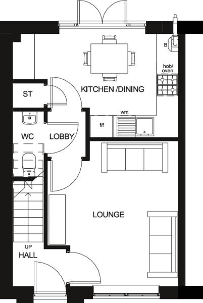 Roseberry Ground Floor Floor Plan