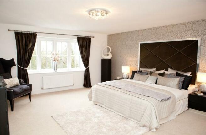 Culcheth Halstead Bedroom