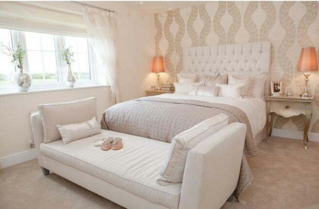 Culcheth Green Woodhall Bedroom