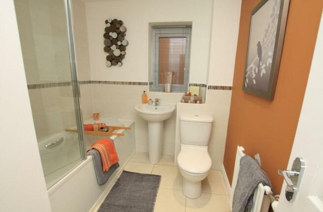 Culcheth Green Woodhall Bathroom