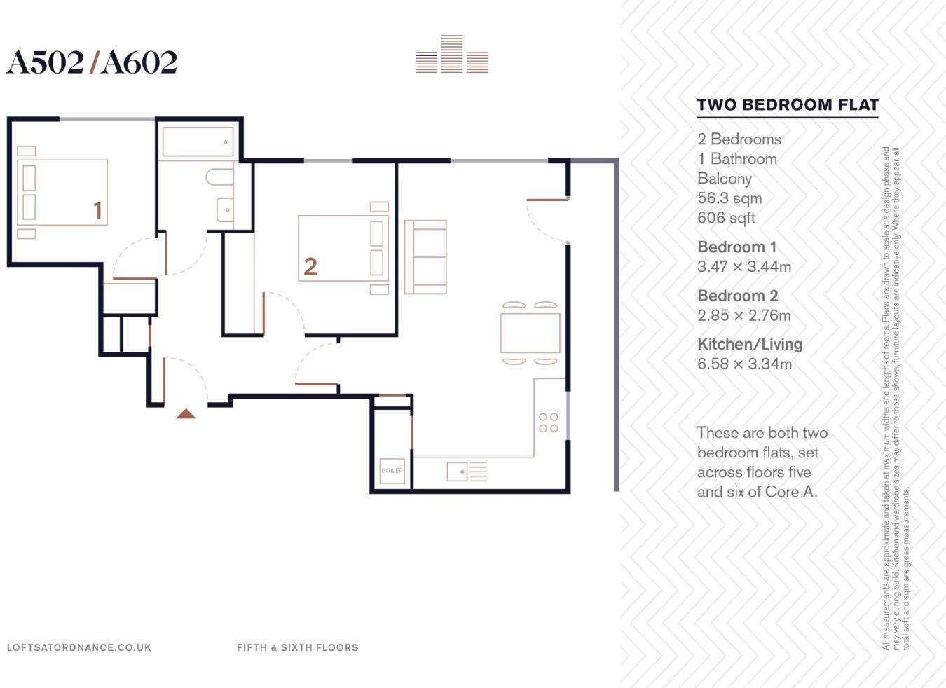 2 bedroom apartment for sale in Dock Street, London, E1, E1