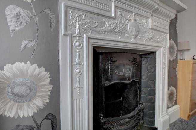 Feature Fireplace in Bedroom Two