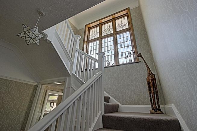 Stairs to the First Floor