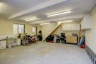 Garage (lower floor) with planning to convert