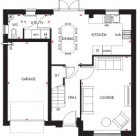 Ripon Ground floor floor plan