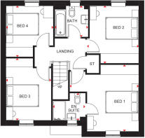 Ripon First floor floor plan