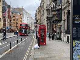 Photo of Telephone Kiosk o/s 21 Fleet Street, London, EC4Y 1AA