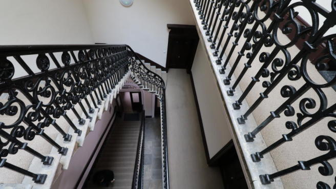 STAIRCASE OF ENTRANCE HALL