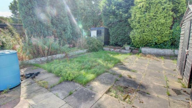 Secondary Private Rear Garden
