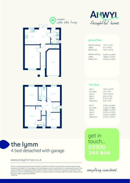 Lymm floor plan