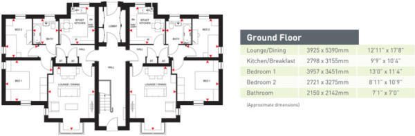 Foxton floorplan