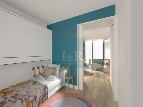 STUDIO WITH 4% NET GUARANTEED PROFITABILITY, IN PARQUE NAÇÕES, LISBON