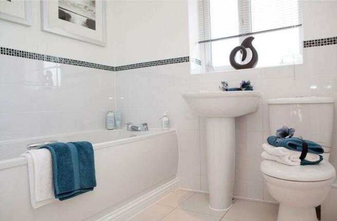 Brampton bathroom - Gateway Gardens