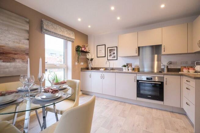 Woodlands Park Lotus House Kitchen