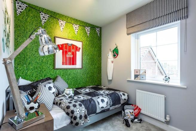 Typical Kingsley third bedroom