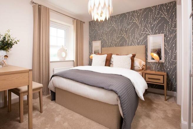 Typical Kingsley bedroom