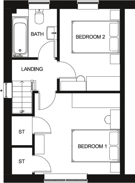 Roseberry First Floor Floor Plan