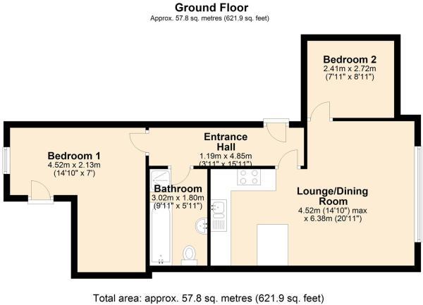 Flat 2  Spring grove - Floor Plan.jpg