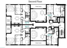 2nd Floor - Waterwheel House.