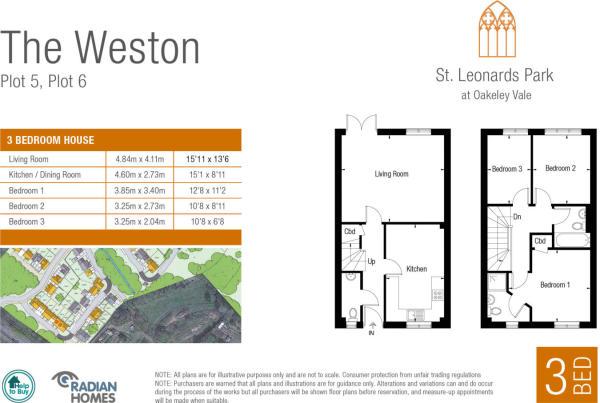 The Weston floorplan