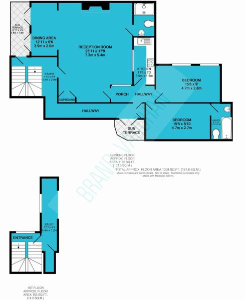 2 Bedroom Apartment For Sale In Sussex Square, Brighton, BN2