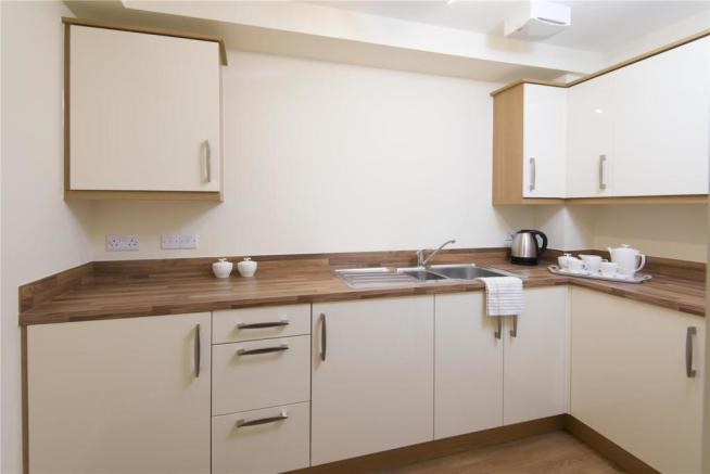Burey Court kitchen
