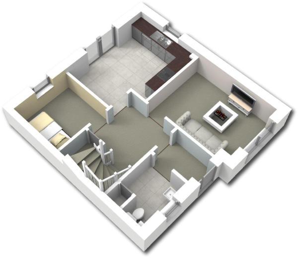 3D ground floor