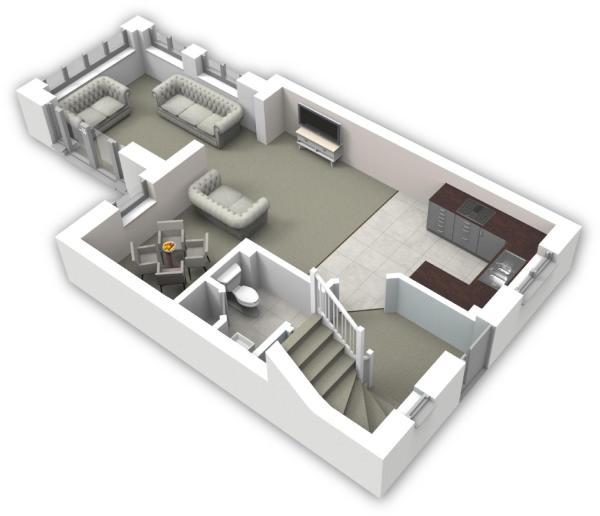 Ground floor 3D