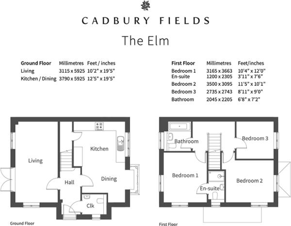 Elm floorplan