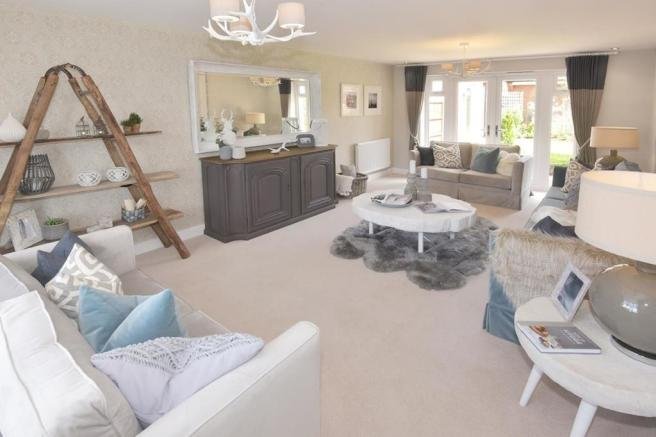 Hunters Lodge Henley Show Home Lounge