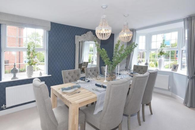 Hunters Lodge Henley Show Home Dining Room