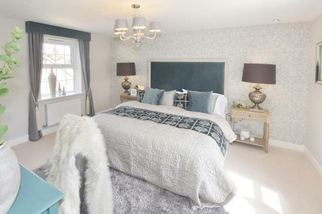 Hunters Lodge Henley Show Home Bedroom