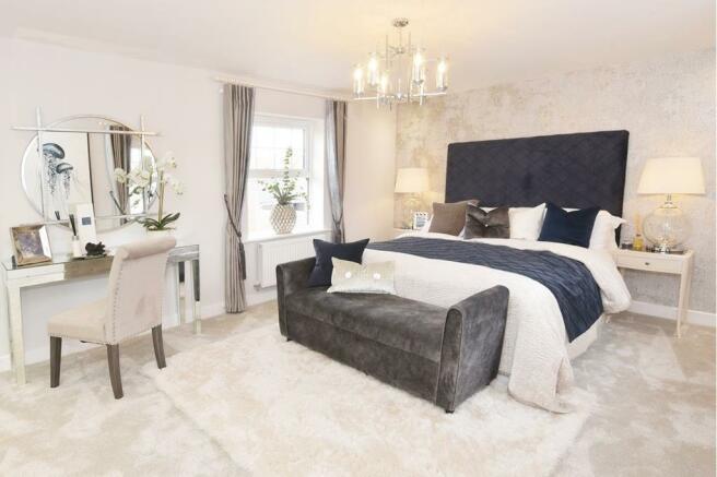 Layton Master Bedroom