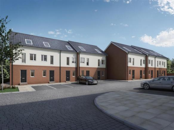 Woodlands CGI 3 Bed Town House